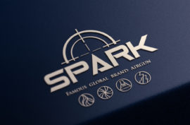 看板_LOGO設計_SPARK