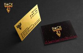 ROCK21_名片設計